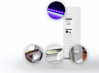uv-lights in lockers